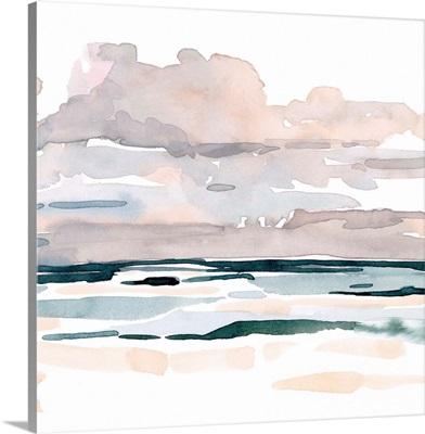 Soft Coastal Abstract I