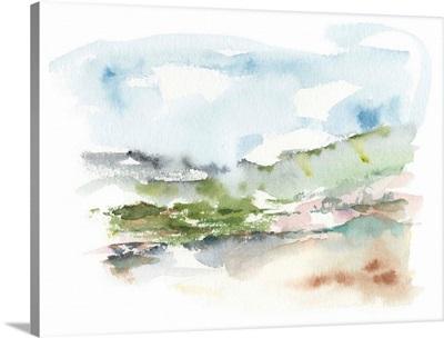 Spring Watercolor Sketch II