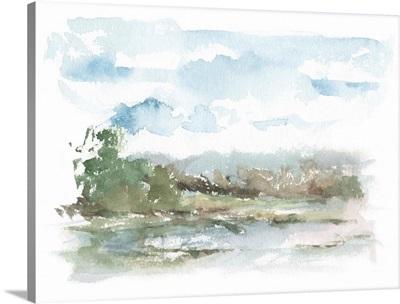 Spring Watercolor Sketch IV
