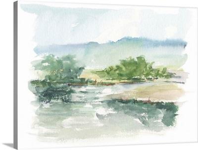 Spring Watercolor Sketch V