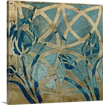 Stained Glass Indigo III