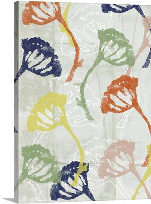 Stamped Floral I