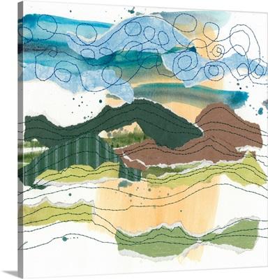 Stitched Landscape I