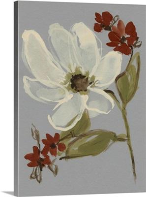 Subdued Floral I