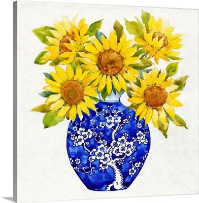 Sun Flower Still Life I