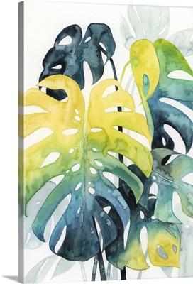 Sunset Palm Composition I