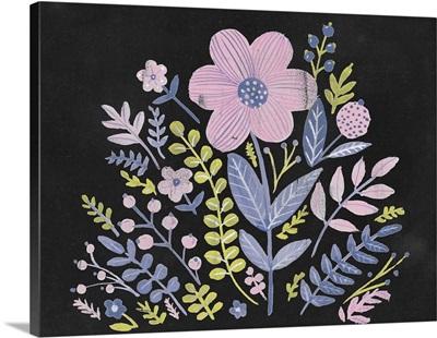 Sweet Folk Florals I