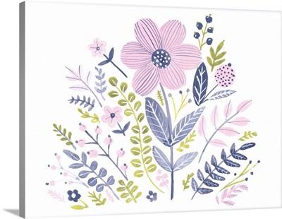 Sweet Folk Florals IV