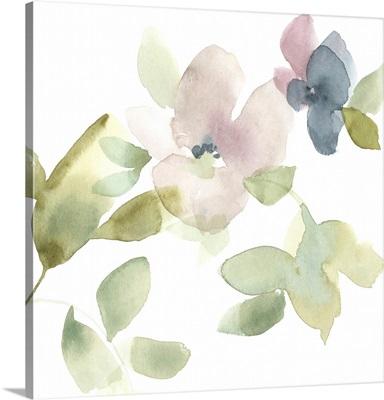 Sweet Petals And Leaves III