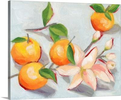 Tangerine Blossoms I