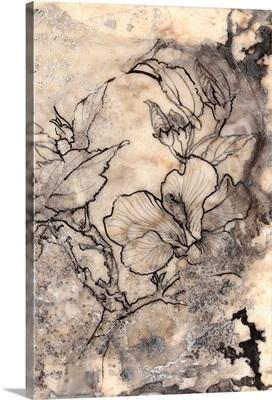 Tattooed Floral I