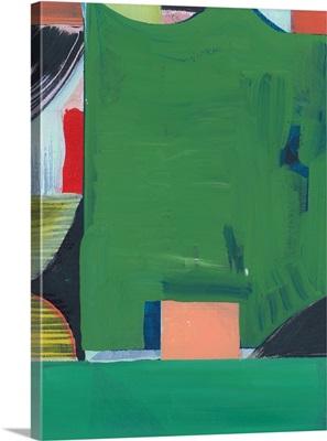 Teal Abstract II