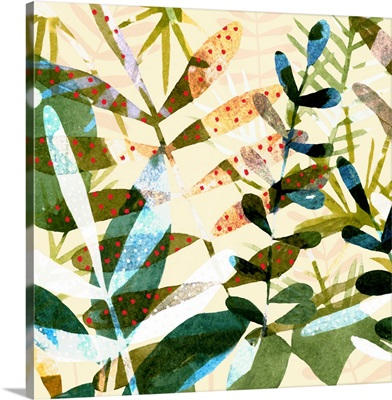 Technicolor Jungle I