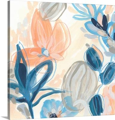 Terra Cotta Blooms I