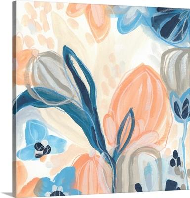 Terra Cotta Blooms III