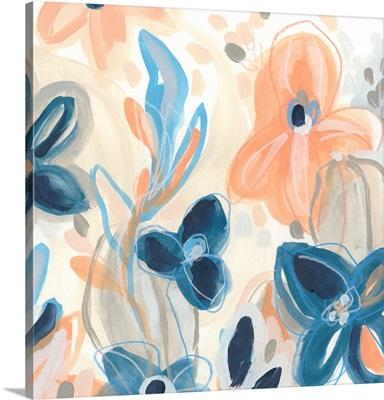 Terra Cotta Blooms IV