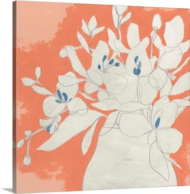 Terracotta Flowers II