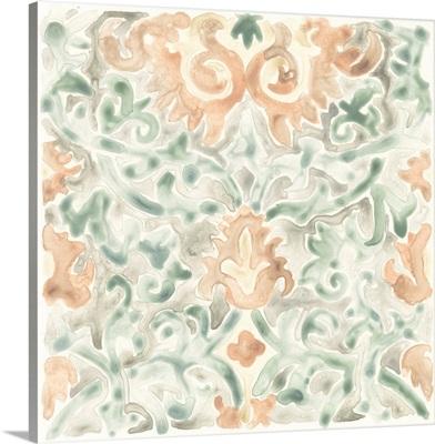 Terracotta Garden Tile V