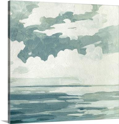 Textured Blue Seascape I