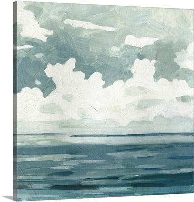 Textured Blue Seascape II