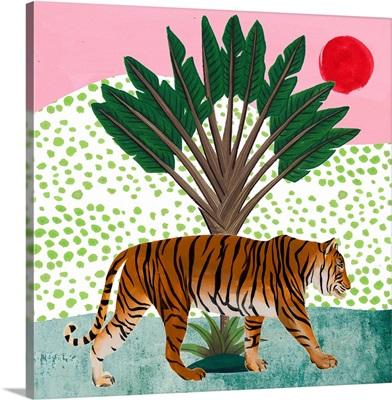 Tiger at Sunrise I