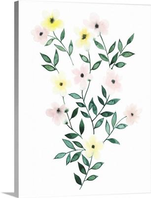 Trellis Flowers I