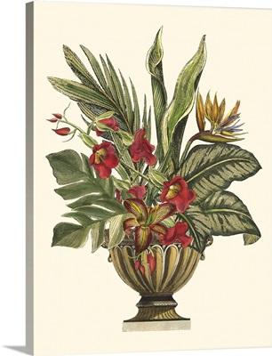Tropical Foliage in Urn II