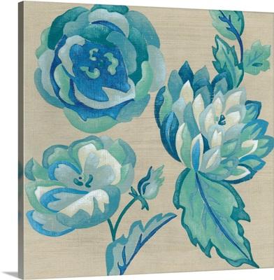 Turquoise Chintz II