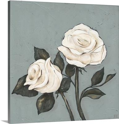 Two Tan Roses