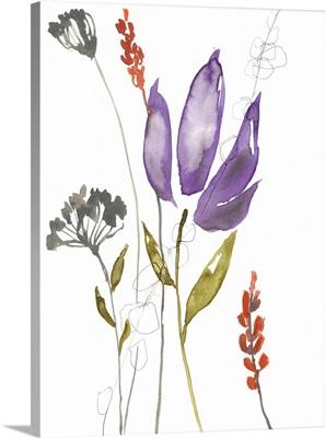 Ultraviolet Bouquet I