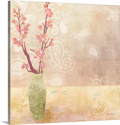 Vase of Cherry Blossoms I