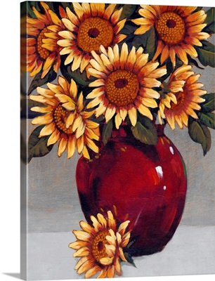Vase of Sunflowers II