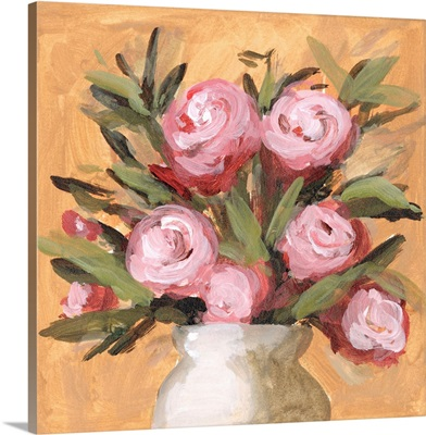 Vase & Roses I