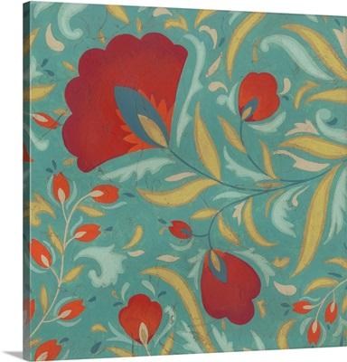 Vibrant Textile I