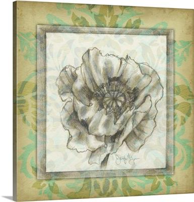 Victorian Poppy I