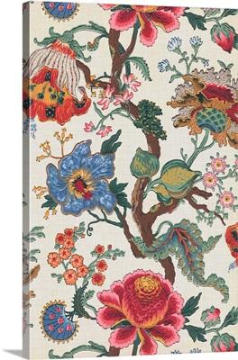 Vintage Jacobean Floral I
