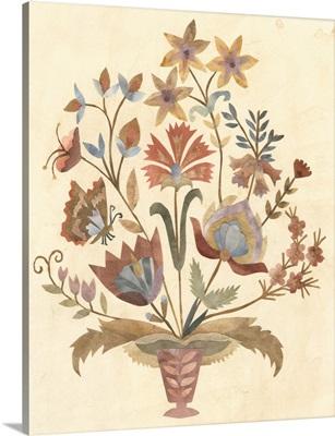 Vintage Paper Bouquet I