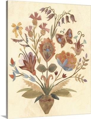 Vintage Paper Bouquet II