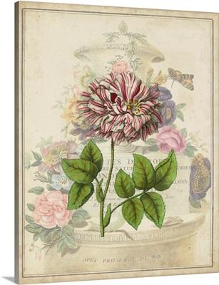 Vintage Rose Bookplate