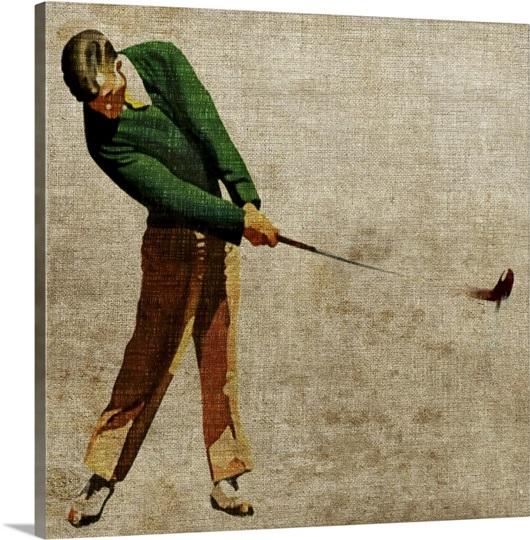 Vintage Sports II Wall Art, Canvas Prints, Framed Prints, Wall Peels ...