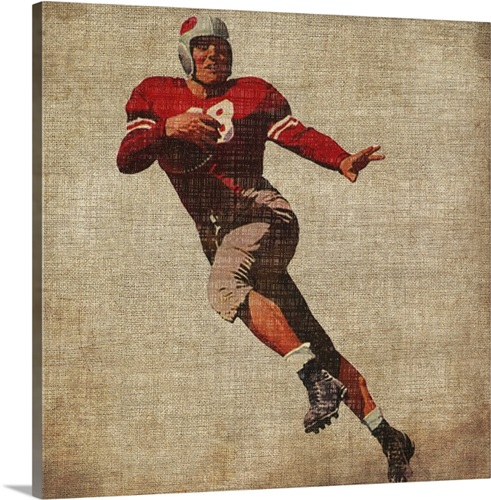 Vintage Sports IV Wall Art, Canvas Prints, Framed Prints, Wall Peels ...