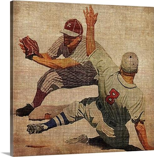 Vintage Sports VII Wall Art, Canvas Prints, Framed Prints, Wall ...