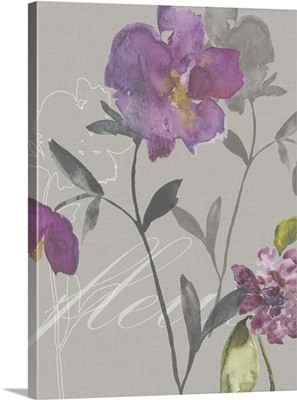 Violette Fleur I
