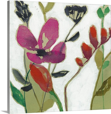 Vivid Flowers I