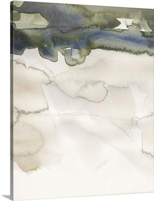 Watercolor Abstract Horizon IV
