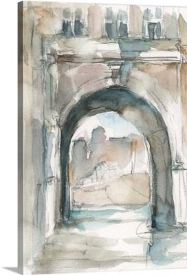 Watercolor Arch Studies IV