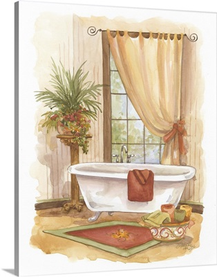 Watercolor Bath in Spice II