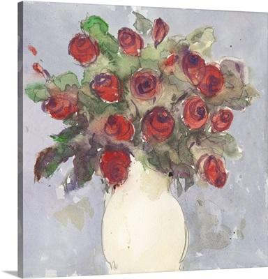 Watercolor Bouquet I
