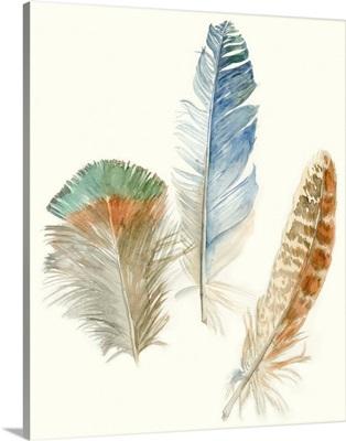 Watercolor Feathers III