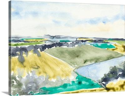 Watercolor Field II